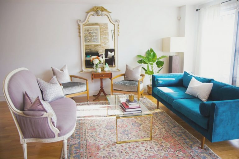 north york toronto, Teal Sofa, Vintage arm chairs, vintage chairs, French Settee